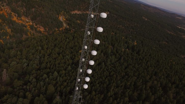 Dielectric DCR-M antenna at Educational Media Foundation in Pueblo Colo