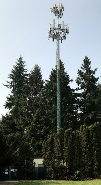 Cell tower used in KARR project