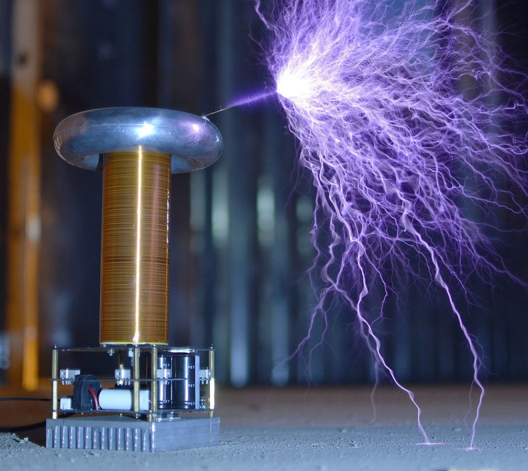 wireless charging tesla coil
