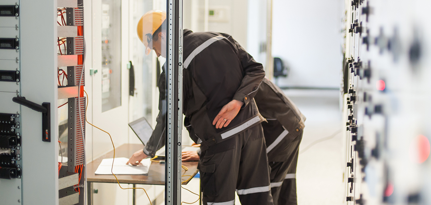 A web-based SCADA system enables an engineer to open the various substations in multiple browsers and key remote monitoring features in different tabs.